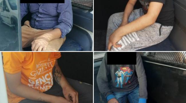 Gaziantep'te Sokağa Çıkma Yasağına Uymayan 8 Çocuk Hakkında İşlem Yapıldı