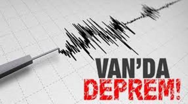 Van'ın Özalp ilçesinde 5,1 büyüklüğünde deprem