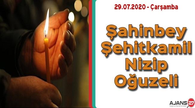 Gaziantep'te Yarın Elektrik Kesintisi Yaşanacak Bölgeler - 29.07.2020 Çarşamba