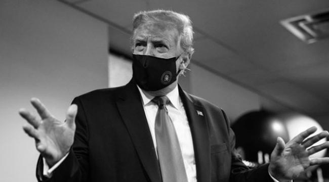 Trump'tan eleştirilere maskeli gönderme