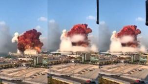 Beyrut'ta ki Patlama Anı ve Sonrası