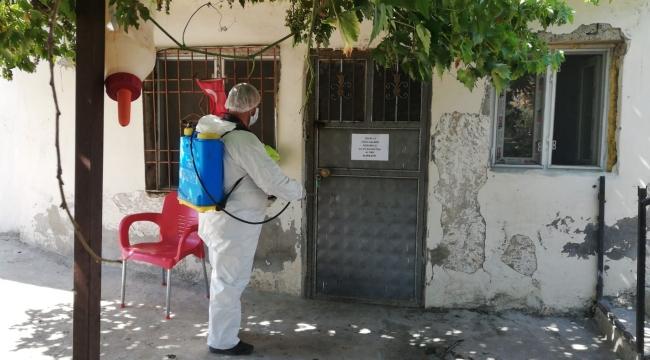 İslahiye Belediyesi dezenfekte çalışmaları devam ediyor