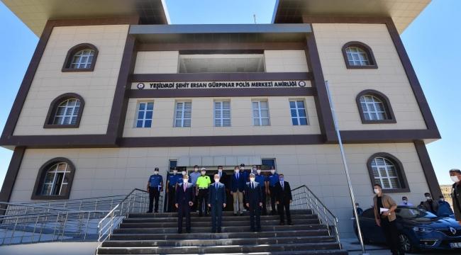 Zeybek Yeşilvadi Şehit Ersan Gürpınar Polis Merkezine ziyaret