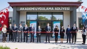 Adalet Bakanı Abdulhamit Gül, Adalet Akademisi Uygulama Adliyesinin açılışına katıldı