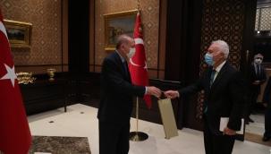 Gaziantep GİBTUNİ Rektörü Nihat Hatipoğlu, Cumhurbaşkanıyla görüştü