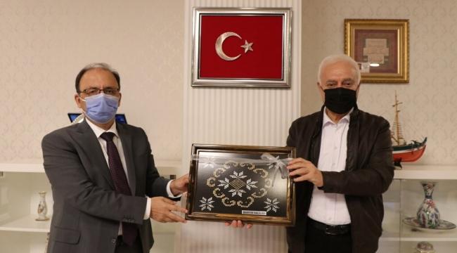 GİTBÜ Rektörü Nihat Hatipoğlu'ndan Bartın'a ziyaret