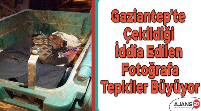 Gaziantep'te çekildiği iddia edilen fotoğrafa tepkiler büyüyor