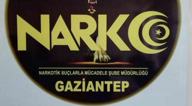 Gaziantep'te yolcu otobüsünde 3 kilo uyuşturucu madde ele geçirildi