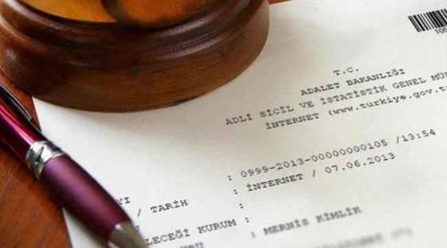 2020 yılında 20 milyon adli sicil belgesi, elektronik ortamda alındı