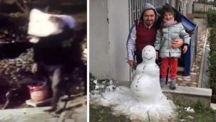 Kardan adamı çaldı! Akıllara durgunluk veren olay