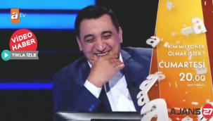 """Orhan Uslu, """"Kim Milyoner Olmak İster?"""" yarışmasına katıldı"""