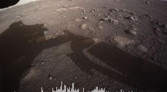 Mars yüzeyinden ilk ses kaydı paylaşıldı