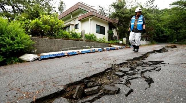 Japonya'yı 7,2 büyüklüğünde deprem: Tsunami uyarısı yayınlandı