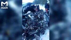 Rusya'da korkunç araba kazası: 7 kişi öldü