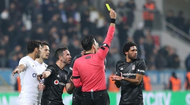 Beşiktaş'tan hakem tepkisi