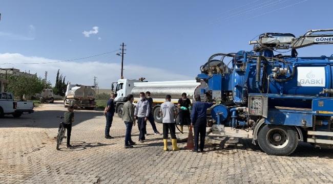 Gaziantep, Körkün'de gerekli olan temizleme işlemleri tamamlandı