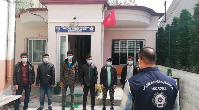 Ülkemize Yasadışı Giriş Yapan 9 Düzensiz Göçmen Osmaniye'de Yakalandı