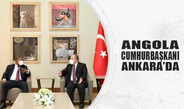 Angola Cumhurbaşkanı Ankara'da