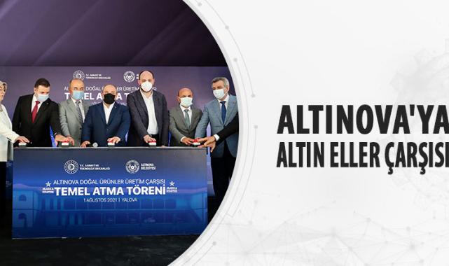 Altınova'ya altın eller çarşısı