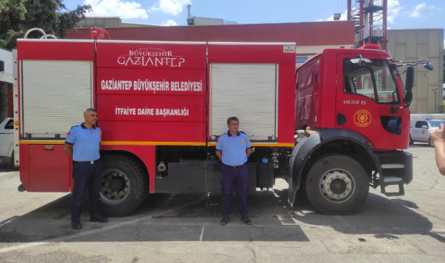 Gaziantep'ten Bodrum ve Marmaris'e destek