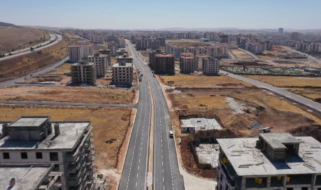 Gaziantep Belkıs Mahallesi'nde 4 Yeni Cadde Yapıldı