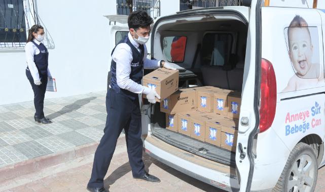 """Gaziantep'te """"Anneye süt bebeğe can"""" projesi ile 2 milyon litre süt dağıtıldı"""